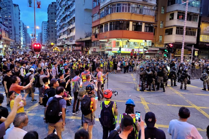 China will use its power to quell Hong Kong protests if the situation deteriorates further, China's ambassador to London said.