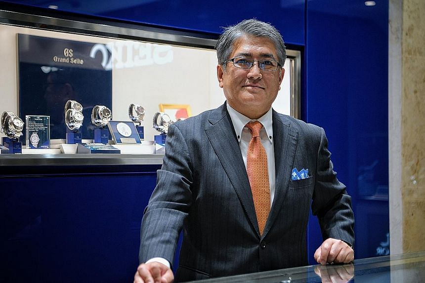 Mr Minoru Ishiguro, Seiko Holdings Corporation's director and chief executive vice-president, says Grand Seiko plans to open more outlets.