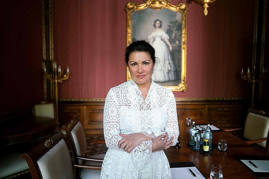 Russian singer Anna Netrebko was a student who also worked as a janitor at the Mariinsky conservatory when her talent was discovered.