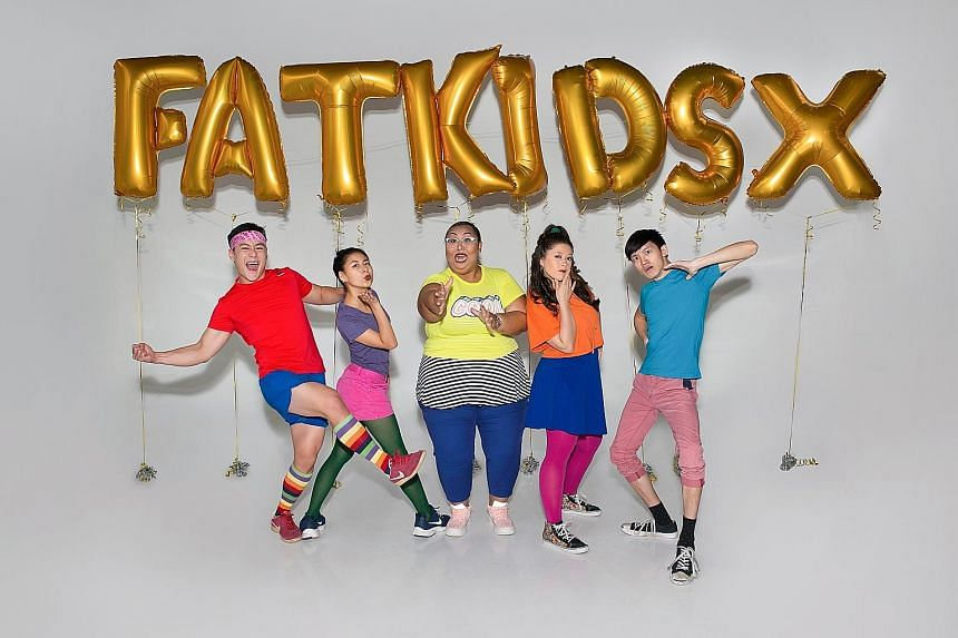Fat kids are harder to kidnap ® X.