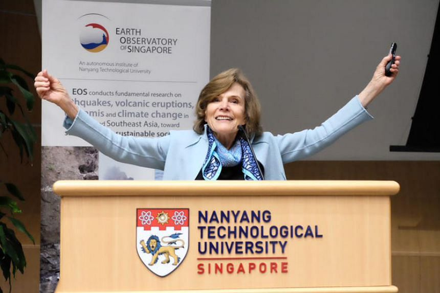 Dr Sylvia Earle will help guide the direction and growth of marine science research in Singapore and the region.