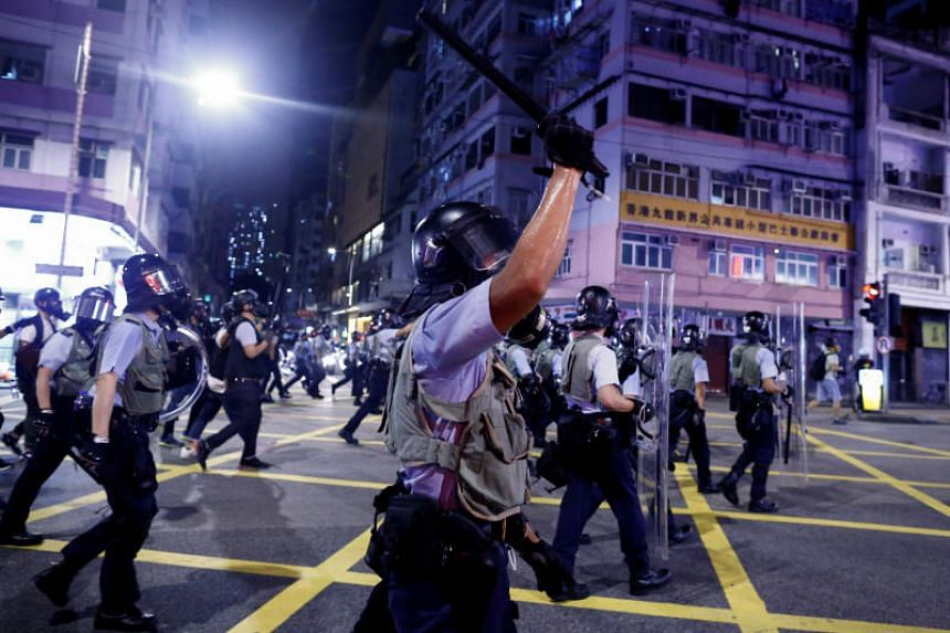 China Police Drills Across Hong Kong Border Seen as a Threat