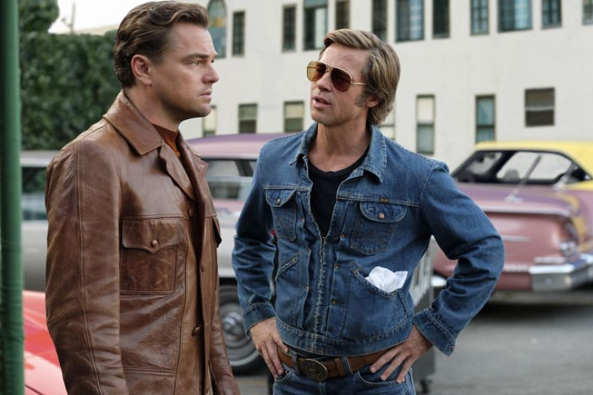 Leonardo DiCaprio and Brad Pitt in Once Upon A Time In... Hollywood.