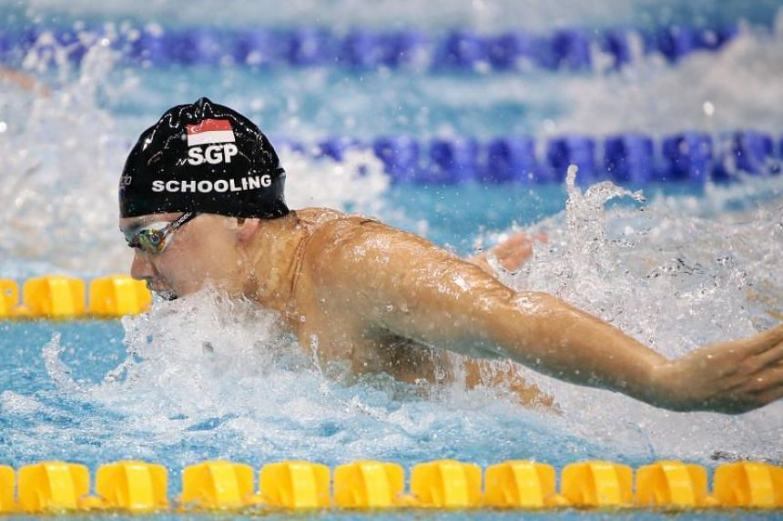 Joseph Schooling finished fourth in the 200m individual medley in 2min 0.23sec.