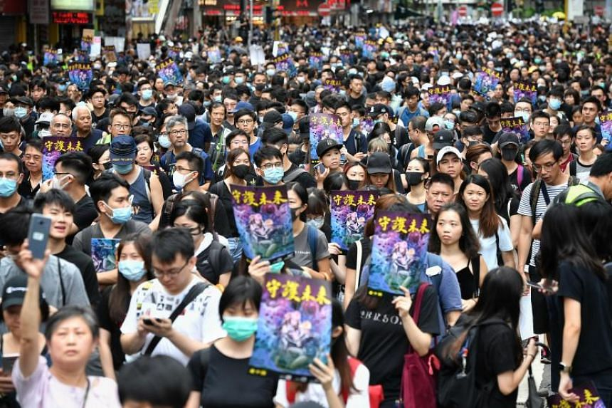 """Nine in 10 of the respondents in the survey, which was released on Aug 16, 2019, said they supported the campaign """"to express their concerns on the social injustice and show their determination for democracy in Hong Kong""""."""