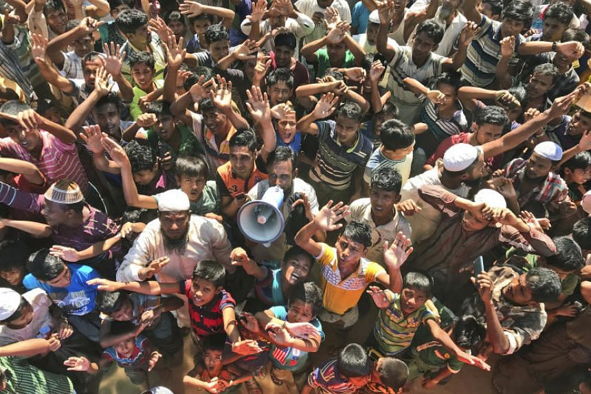 The United Nations High Commissioner for Refugees said Bangladesh asked for its help in verifying the 3,450 people who signed up for voluntary repatriation.