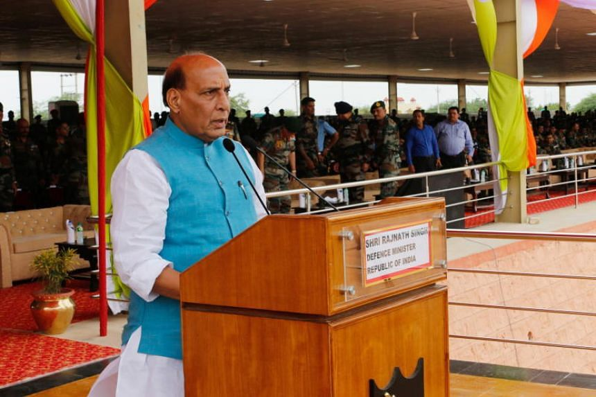 """Defence Minister Rajnath Singh tweeted to say India remains """"firmly committed"""" to the doctrine, but """"what happens in the future depends on the circumstances."""""""