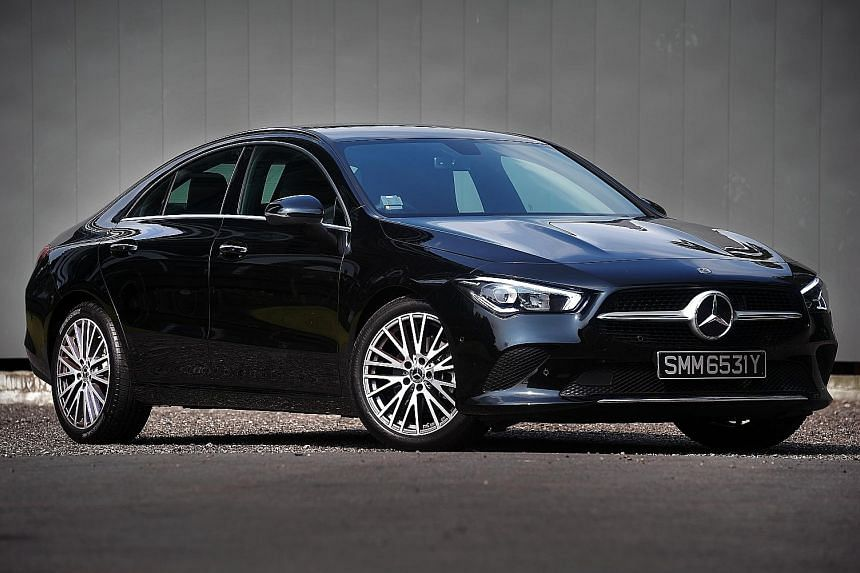 The Mercedes-Benz CLA200, with its 1,332cc engine, delivers reasonable pace with minimal fuss when unhurried.