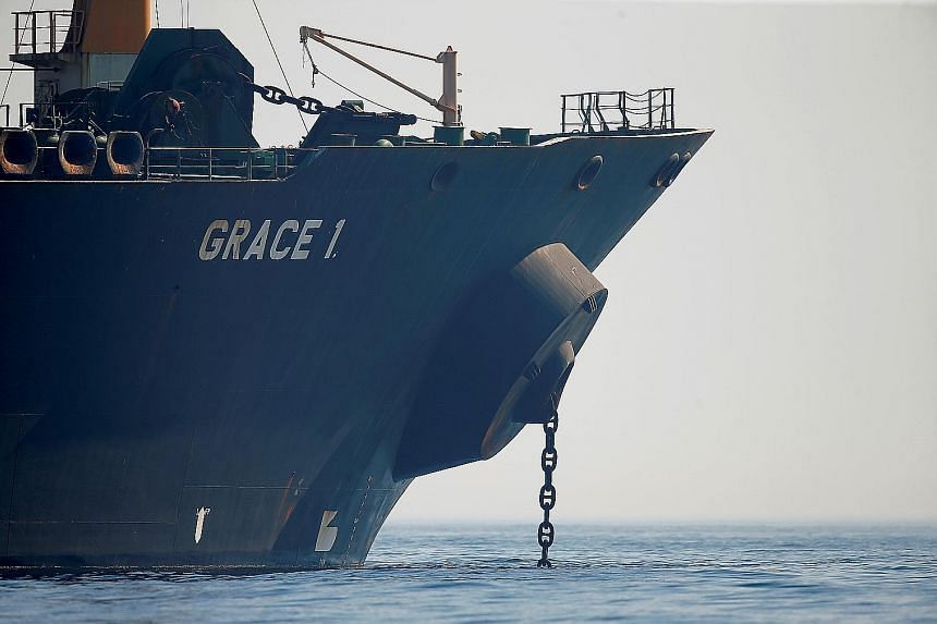 Gibraltar ordered the release of the Iranian oil tanker Grace 1, held on suspicion that its cargo was bound for Syria in breach of an EU embargo.