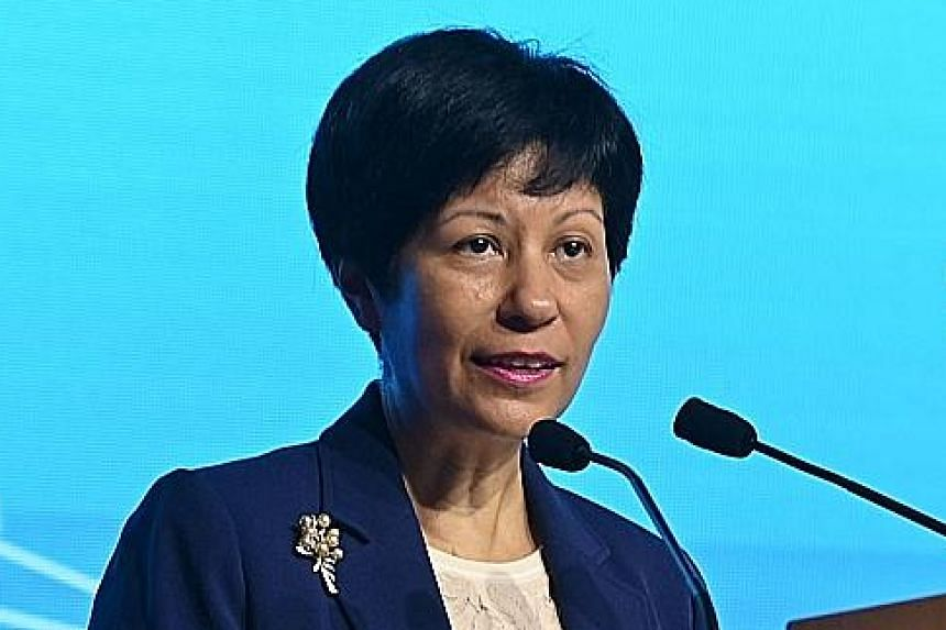 Ms Indranee Rajah, Minister in the Prime Minister's Office and Second Minister for Finance and Education.