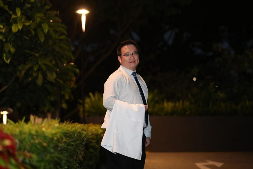 At 39, Mr Lim Chun Chai is Duke-NUS Medical School's oldest ever first-year student.