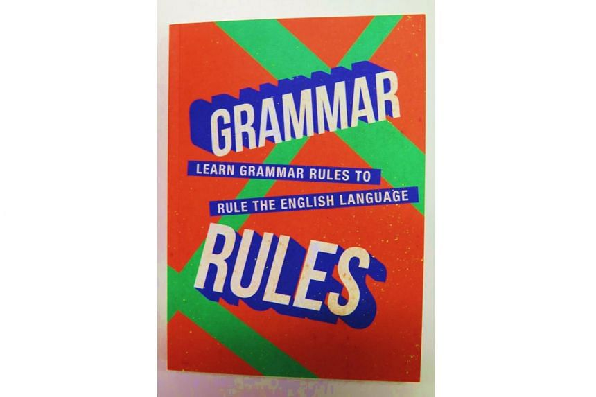 Book cover: Grammar Rules, published by the Speak Good English Movement.
