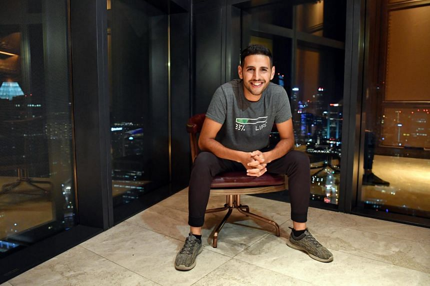 Video blogger Nuseir Yassin, popularly known as Nas, moved to Singapore in April to set up the Nas Daily Media Company.