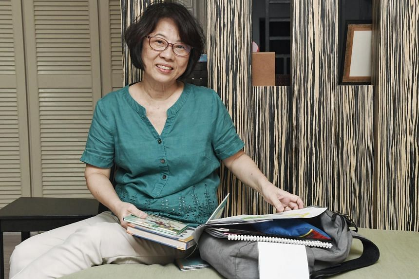 Madam Anne Lau, who is fostering for the first time, has had to use her leave for her foster child's assessment and therapy sessions, dental visits and when she was ill. ST PHOTO: KHALID BABA