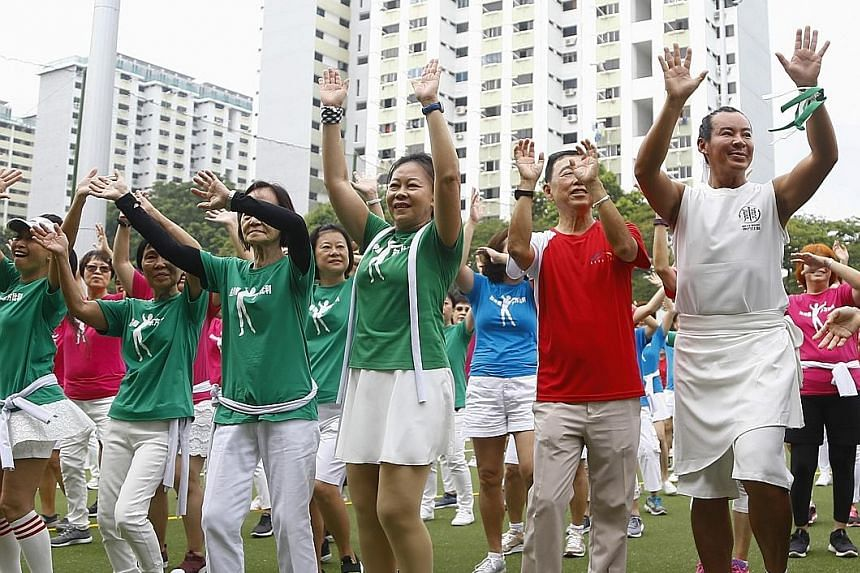 The newly renovated ActiveSG Hockey Village at Boon Lay was officially opened yesterday, with Senior Minister and Coordinating Minister for Social Policies Tharman Shanmugaratnam the guest of honour. He was joined by Singapore hockey greats like Anwa