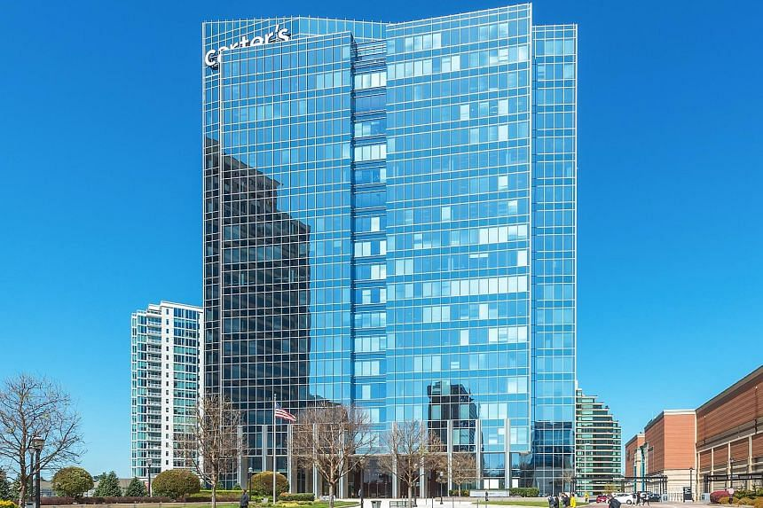 The Phipps Tower, a 480,000 sq ft trophy office building in the heart of Buckhead, Atlanta, is one of three top-quality office properties that Manulife US Reit has acquired since listing. The other two are in Washington and New Jersey.