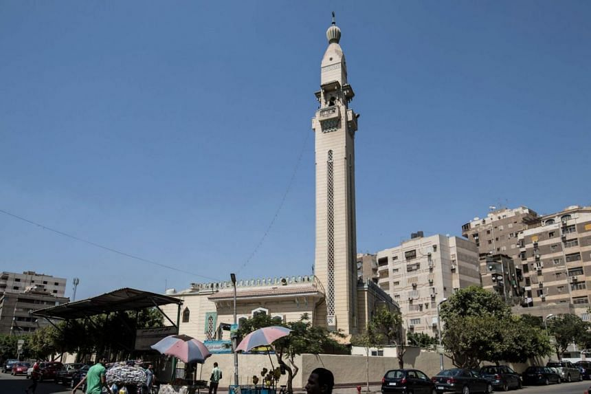 A picture taken on Aug 6, 2019 shows the Moussa Ibn Naseer mosque in Nasr city district, east of the capital Cairo.