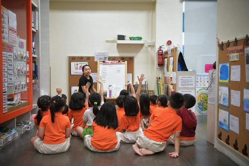 Full-day pre-school expenses should be brought down to around $300 a month - the same as the cost of primary school plus after-school student care, said Prime Minister Lee Hsien Loong.