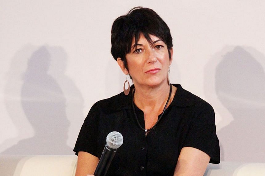 A 2013 photo of Ms Ghislaine Maxwell, who has been described as the coordinator of Jeffrey Epstein's (above) sex-trafficking operation. PHOTOS: AGENCE FRANCE-PRESSE, ASSOCIATED PRESS