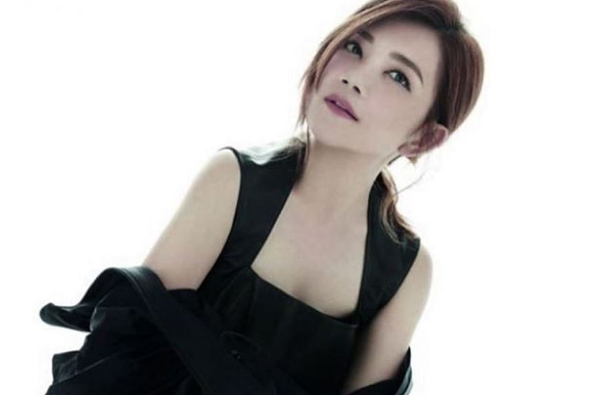 Malaysian singer Fish Leong (above) was reported to have split from her wine merchant husband Tony Chao.