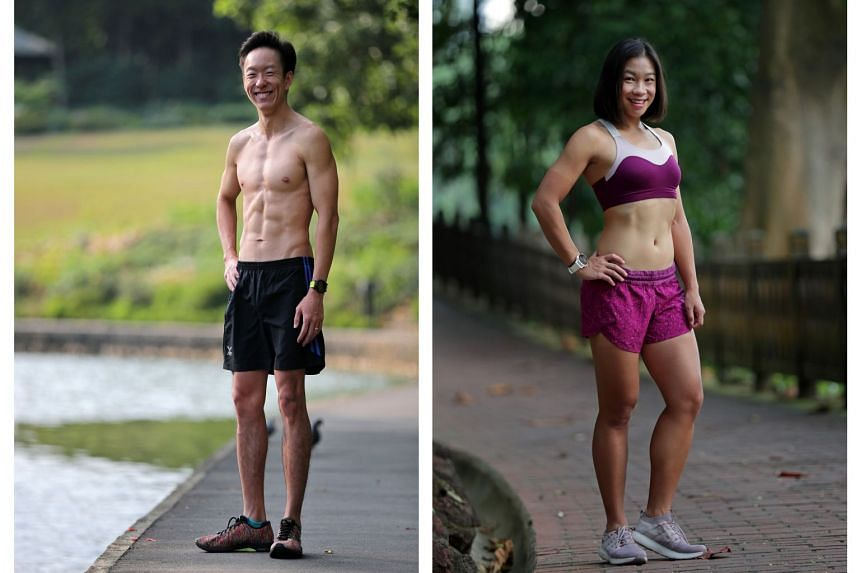 Left: Kerwin Tan. Right: Elaine Young.