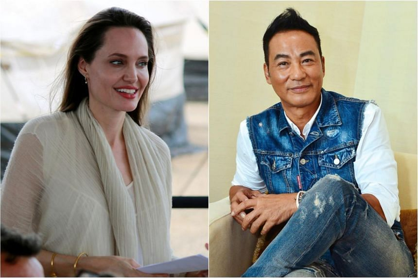 Angelina Jolie Texts Her Support For Simon Yam After The Actor S