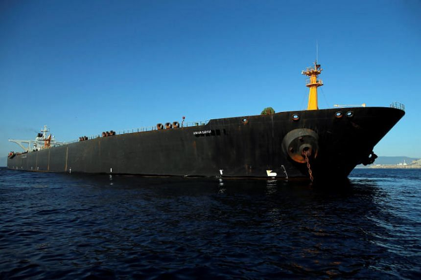 Teheran said it is ready to dispatch its naval fleet to escort the tanker - now renamed the Adrian Darya-1 - if required.