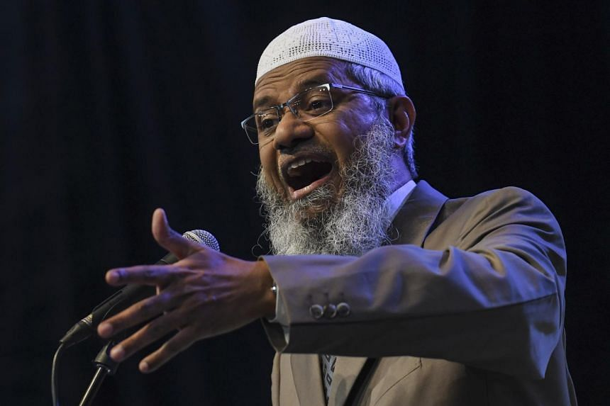 Controversial preacher Zakir Naik was granted permanent residency by the former Barisan Nasional government.