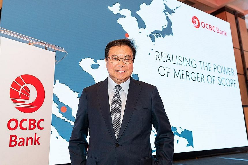 OCBC Bank chief executive Samuel Tsien said the Hong Kong protests have had a small effect on the bank's bottom line in the short term, but also pointed out that the Hong Kong people's deep knowledge of China and global trade and affairs gives the ci