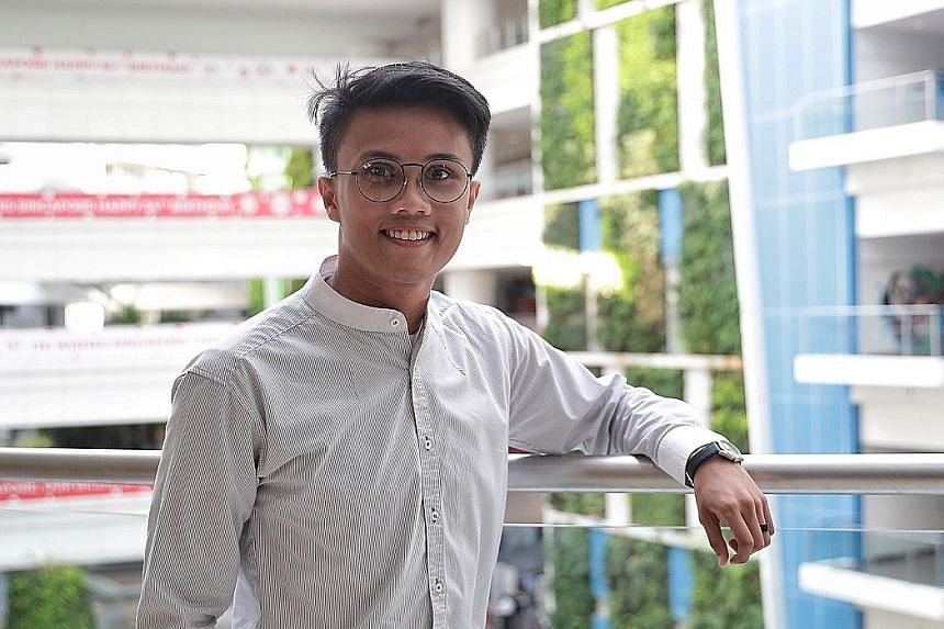 Mr Mohammad Abdillah Mohamad Sam studied animation at the Institute of Technical Education, and went on to Nanyang Polytechnic, where he graduated in 2016. The 25-year-old is now a motion graphics artist.