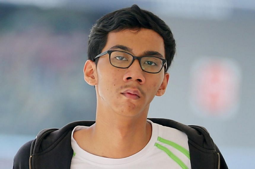 Student Muhammad Lutfi Dzakir Abdul Rahman (above) and full-time national serviceman Yap Thanabadee pleaded guilty to causing injuries to children while riding their devices in a rash manner in two separate incidents.