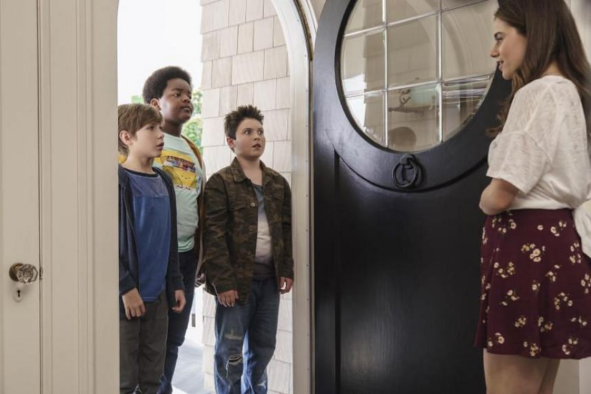 Good Boys, produced by Seth Rogen and Evan Goldberg, follows three 12-year-olds - played by Brady Noon, Jacob Tremblay and Keith L. Williams - as they desperately try to get into a kissing party.