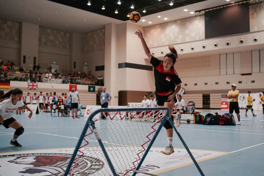 The girls' Under-18 final was a tightly contested battle as the Taiwanese raced to an early lead to win the first period 13-10. The Singaporeans bounced back and displayed remarkable composure to win the second and third period and secure a 38-30 vic