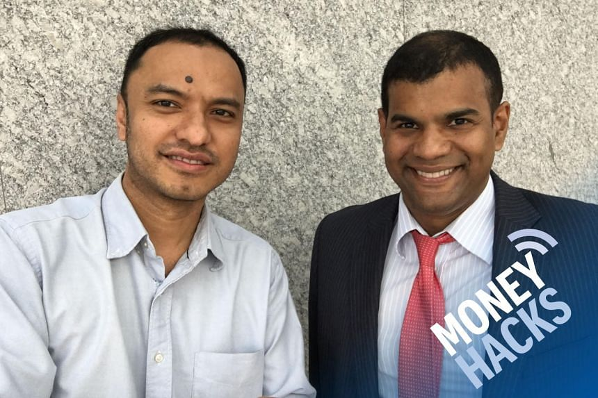 Money Hacks podcast host Ernest Luis (left) asks guest expert and equity analyst Nirgunan Tiruchelvam why investors should look at the booming Asian e-commerce trend and how to navigate it with caution.
