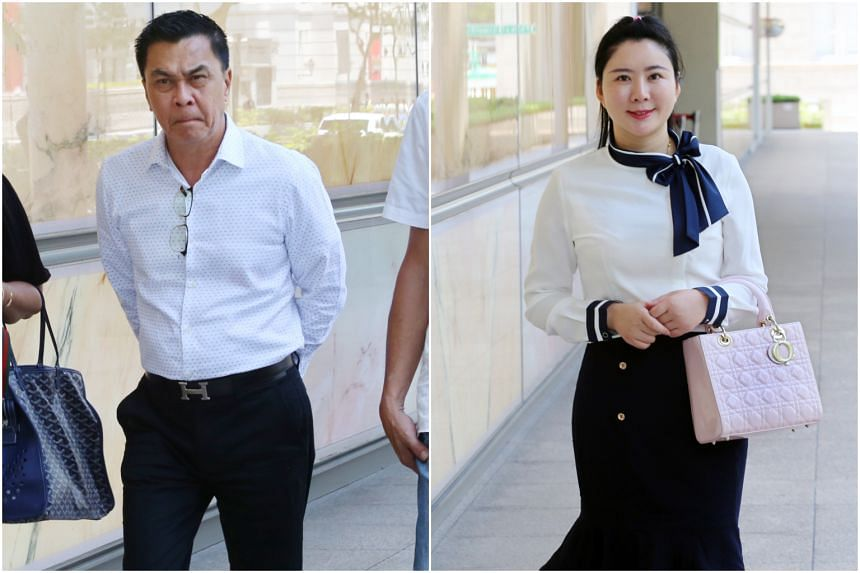 Property agent Angelina Jiang, 33, has produced chat messages to argue that the money was a gift to her that businessman Toh Eng Tiah, 55, was not entitled to reclaim.