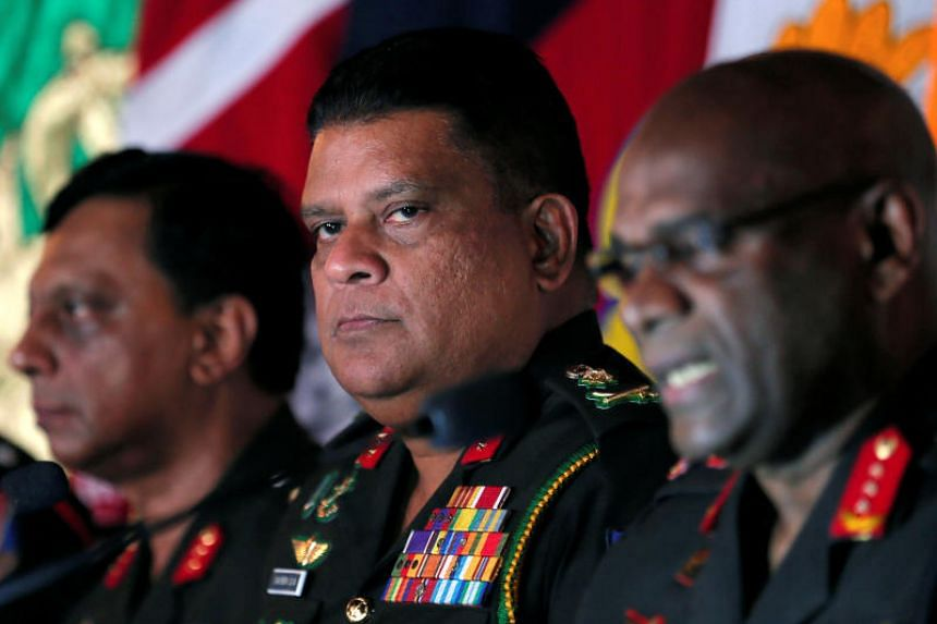 The new commander, Major General Shavendra Silva, was in charge of the 58th Division, which encircled the final stronghold of the Tamil Tiger rebels in the last stages of the civil war in 2009.