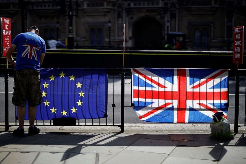 The Brexit ministry said that the time spent preparing for the meetings in Brussels would be better used in readying the country for leaving the European Union on Oct 31, 2019.