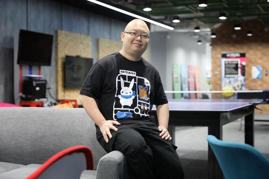 BattleBrew Productions founder and chief executive officer Shawn Toh. BattleBrew Productions is among the latest home-grown studios aiming to push made-by-Singapore games further out on the world stage.