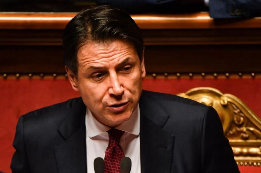 Italian Prime Minister Giuseppe Conte announced his resignation while addressing Parliament on Tuesday (Aug 20).