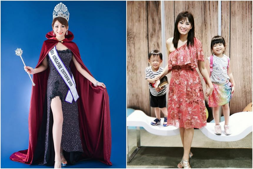 Mrs Li Minhua was taking her four-year-old daughter to a child beauty pageant audition when she was approached to audition for a pageant for married women.