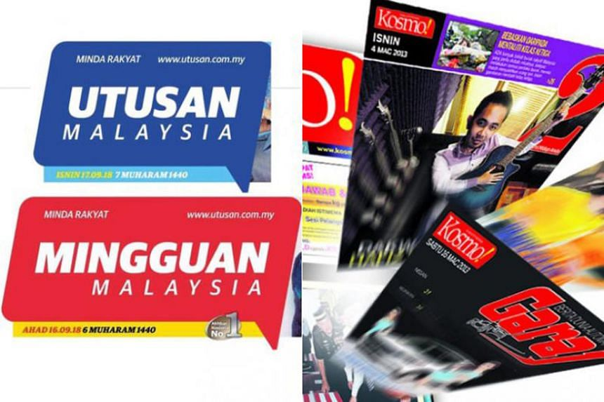 It was reported that the Utusan newspaper group had not paid staff salaries since June.