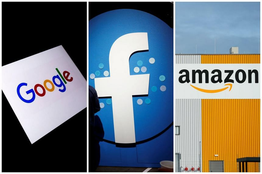 """Google, Facebook and Amazon appeared at a hearing on possible countermeasures and were unanimous in their complaints, calling the tax a """"troubling precedent""""."""