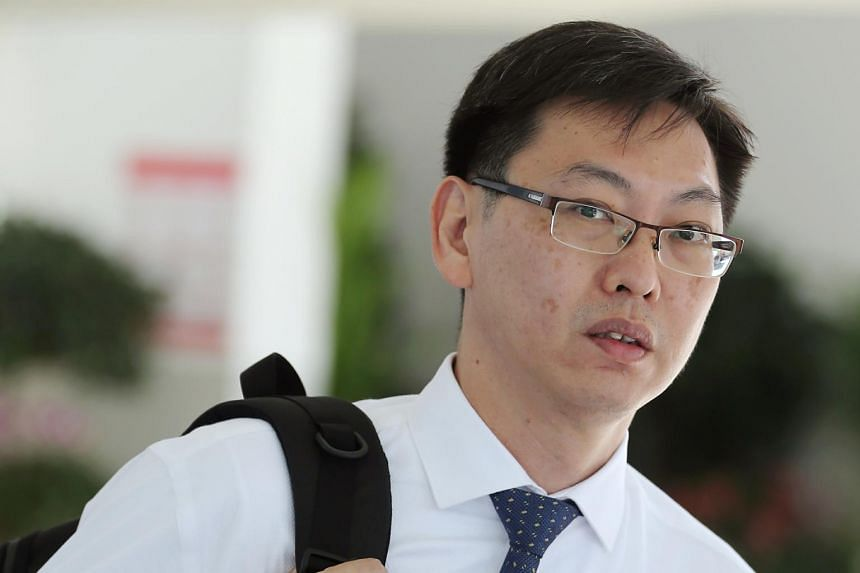 Family physician Lui Weng Sun is claiming trial to outraging a woman's modesty at a Northeast Medical Group clinic near Old Airport Road in November 2017.