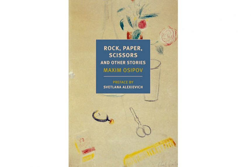 Rock, Paper, Scissors And Other Stories (above) is Russian writer Maxim Osipov's first collection to be translated into English.
