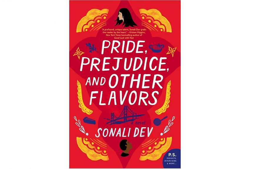 Pride, Prejudice And Other Flavors (above) by Sonali Dev recasts the original into a story about immigrant life.