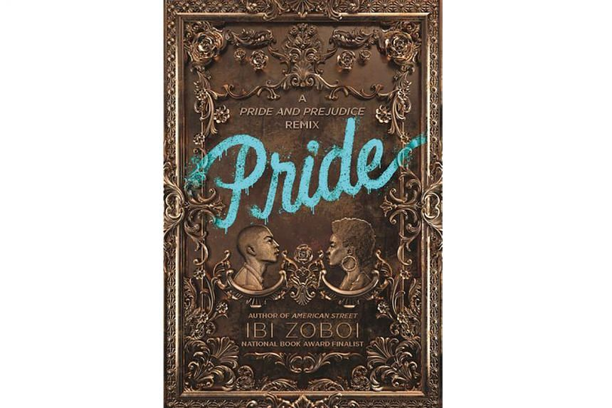 Pride (above) by Ibi Zoboi tells the story of a headstrong teen of Haitian and Dominican descent.