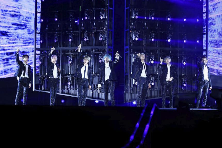 South Korean boyband BTS are among the nomineess for the new, fan-voted Best Group category of the MTV Video Music Awards.