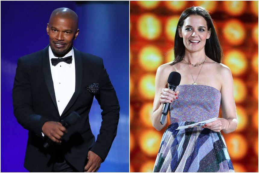 Jamie Foxx and Katie Holmes first got tongues wagging in 2013 when they danced together at a charity event, a little over a year after Holmes and actor Tom Cruise split up in 2012 after six years of marriage.