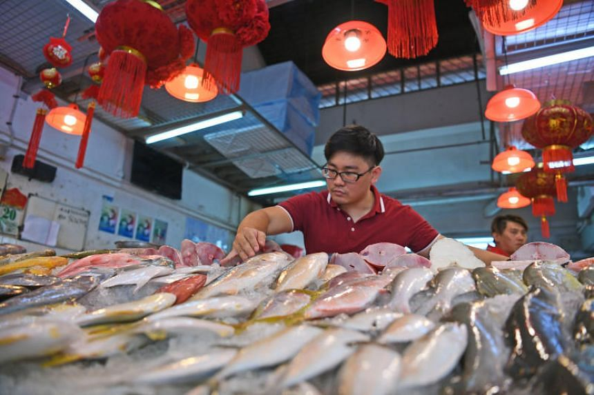 In April, Mr Jimmy Goh rolled out an e-commerce arm of his family's wet market seafood store called Tankfully Fresh that allows customers to order fresh seafood online and get it delivered to their doorsteps island-wide the next day.