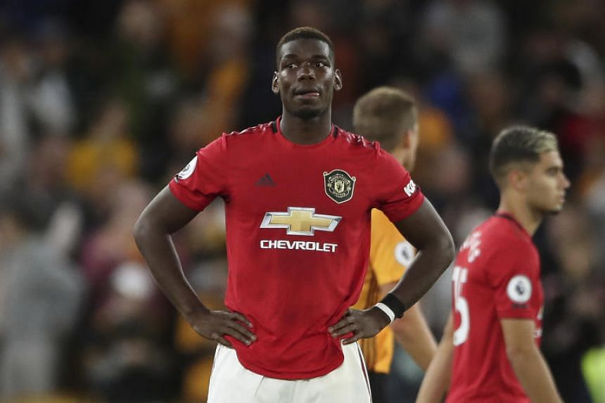 Paul Pogba was racially abused by a handful of supporters after he missed a penalty during a match against the Wolverhampton Wanderers on Aug 19, 2019.
